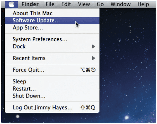 software update Mac