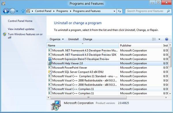 Uninstall Unnecessary Apps & Programs windows 7