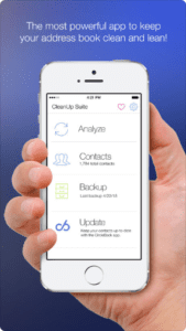 Cleanup Duplicate Contacts on the App Store