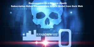ransomware-as-a-service