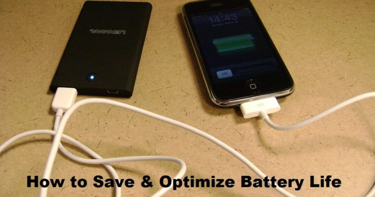 How to Save & Optimize Battery Life on an iPhone