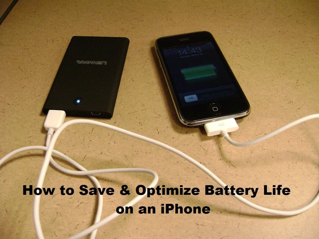 save iphone battery how to save amp optimize battery on an iphone 12914