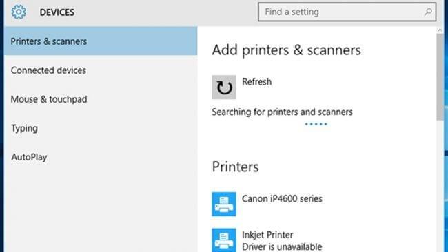 Printer Compatibility Issue windows 10