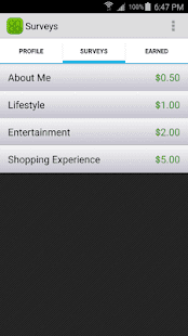 Surveys on the go - best money earning app