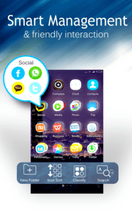 c launcher for android