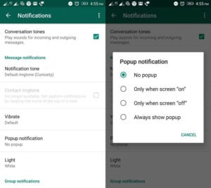 direct-reply-and-popup-notifications on whatsapp
