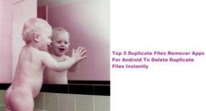 duplicate files remover