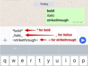 whatsapp-bold-italics-strikethrough