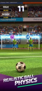 Flick Soccer 17 best free iphone games