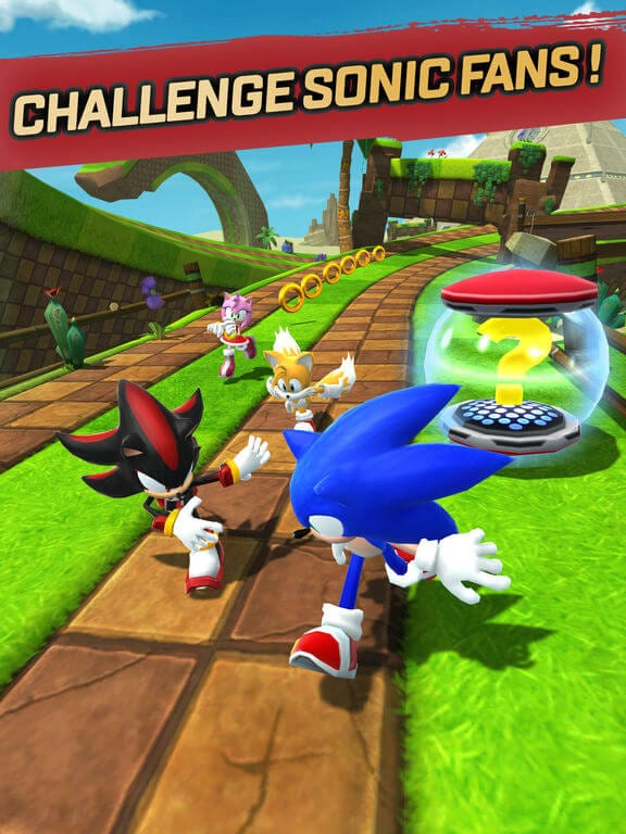 Sonic Forces Speed Battle best free iphone games