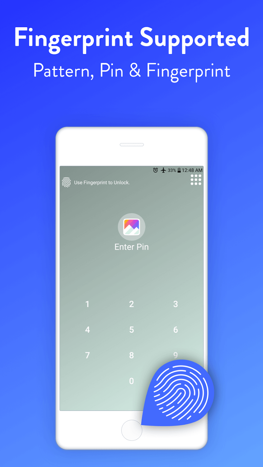 App Locker Fingerprint & Pin