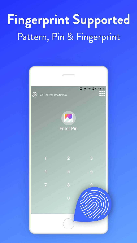App Locker Fingerprint & Pin