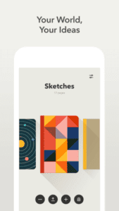 Paper by Fifty-Three app for iphone