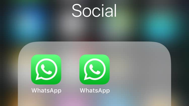 Run Multiple or dual WhatsApp Accounts On One iPhone