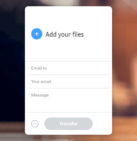 WeTransfer-app-for-android