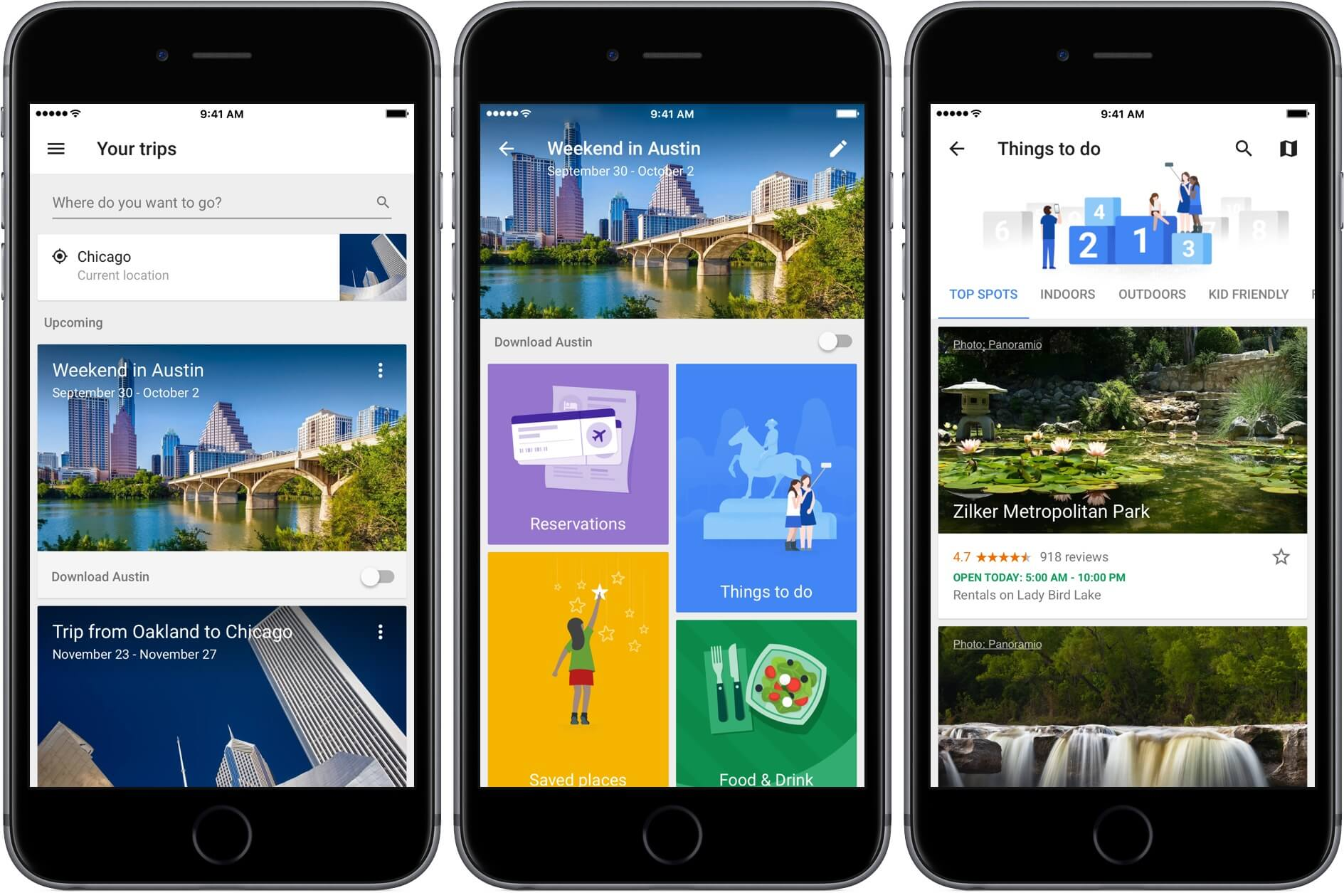 google trips for iphone