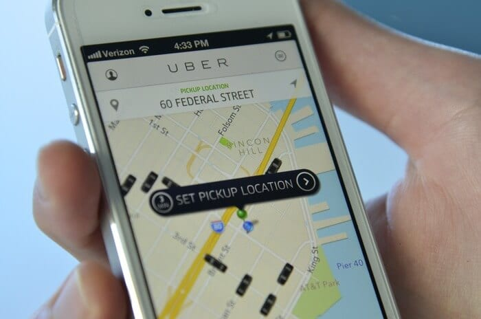 uber app for iphone