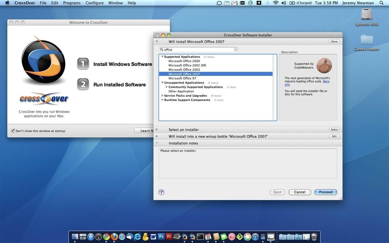 Crossover Mac