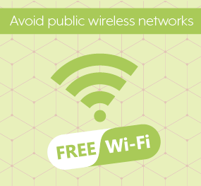 avoid Public Wireless Networks