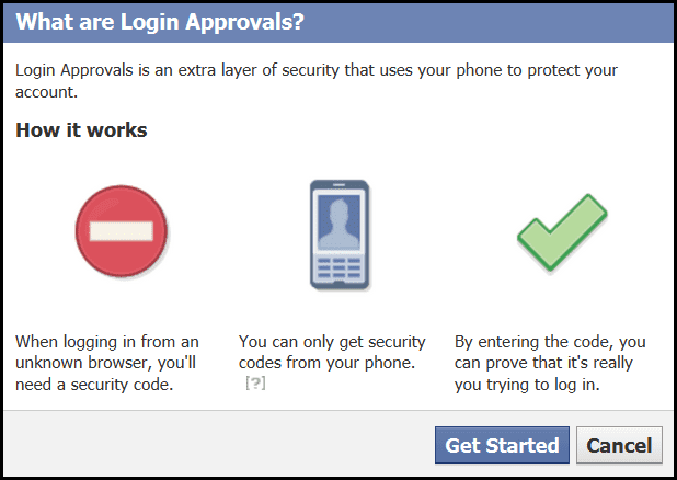 Enable Login Approvals