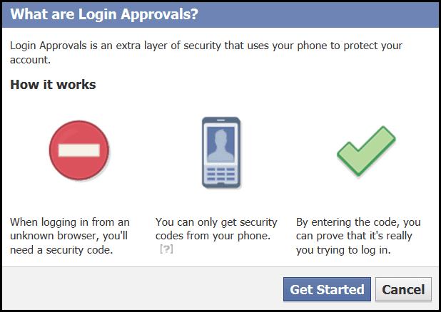 Enable Login Approvals
