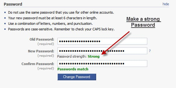 Generate a stronger password
