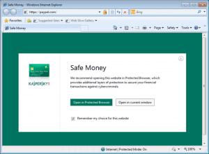 Safe Money Mode