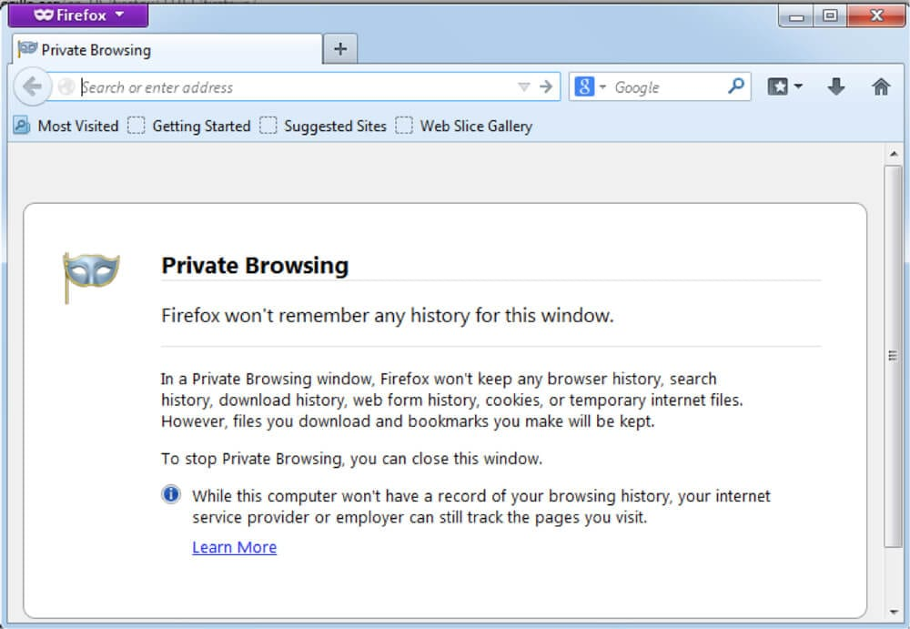 502 bad gateway error private mode