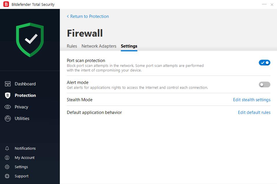 Firewall-bitdefender