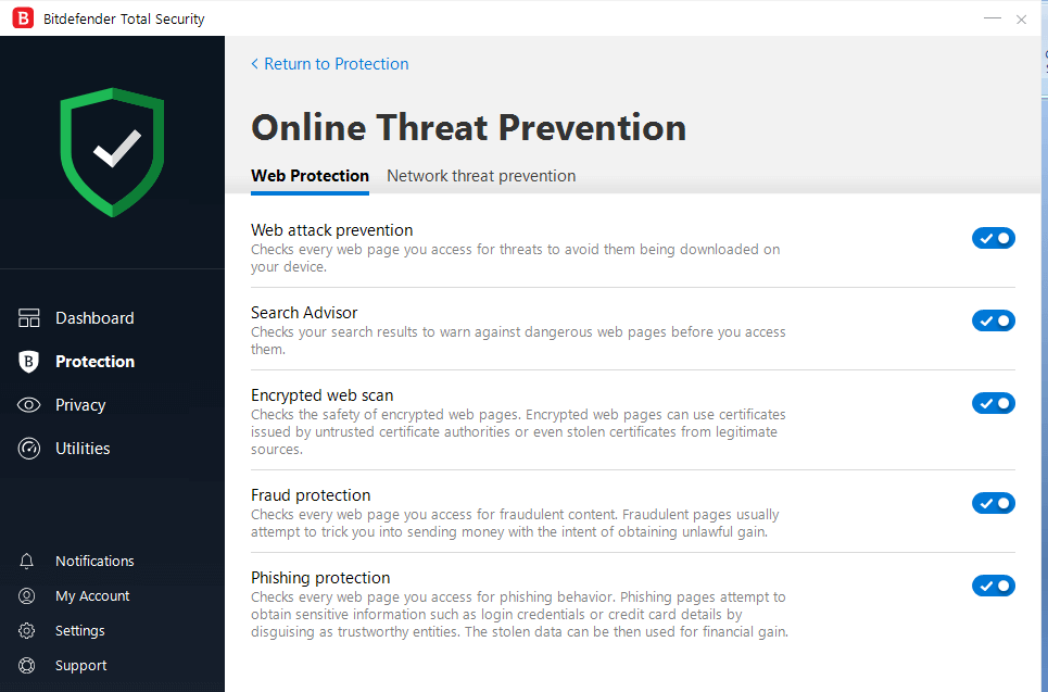 Online-Threat-Prevention