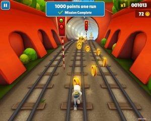 Subway Surfers gameplay