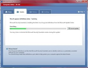Update Security Program