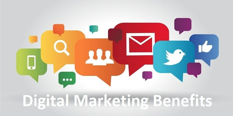 Benefits of Digital Marketing to Improvise Branding