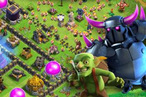 Clash of clans graphics