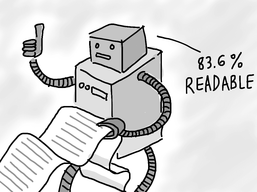 write readable content