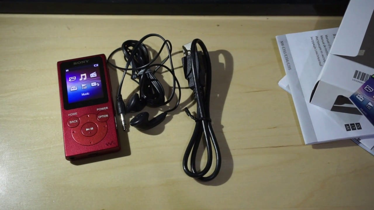 Sony NW-E394 8GB Walkman