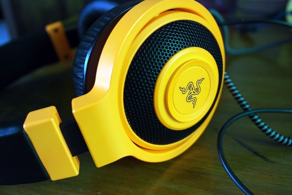 A COMFORTABLE GAMING HEADSET