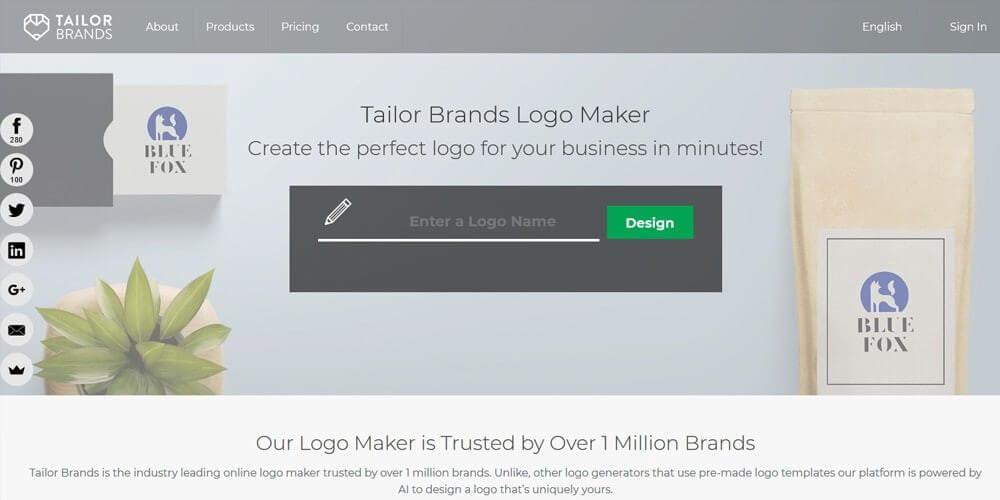 tailor brand logo