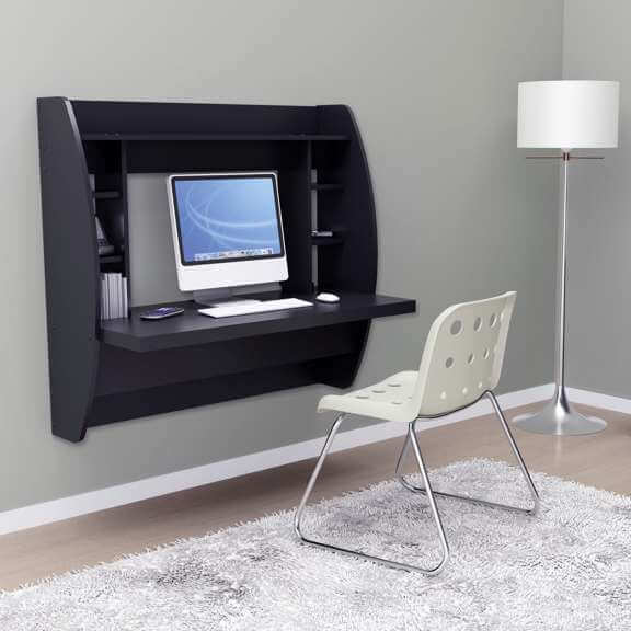 Prepac Wall Mounted Desk