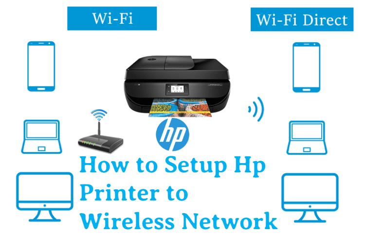 Setup Hp Printer To Wireless Network