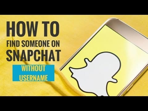 How to Find Someone on Snapchat without Username