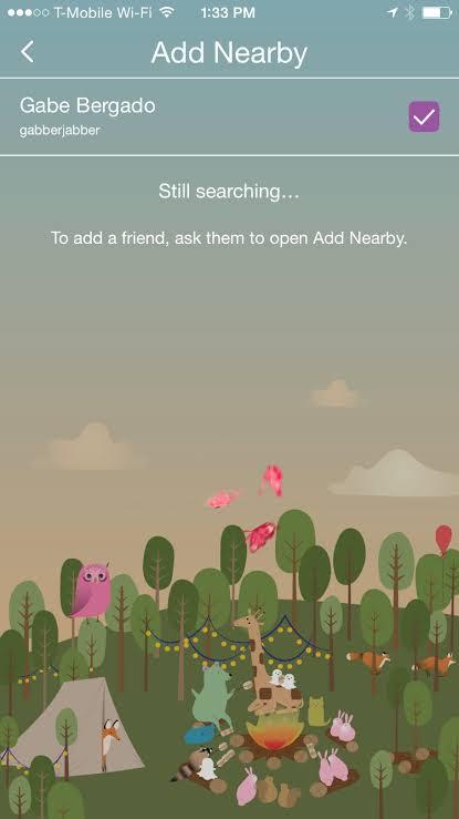 add nearby snapchat
