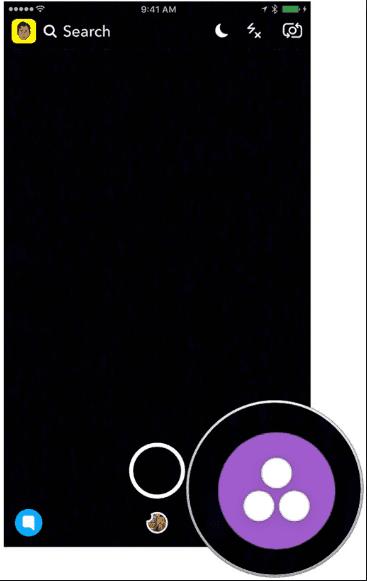 snapchat search