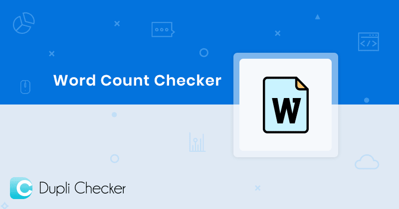 dupli checker word counter