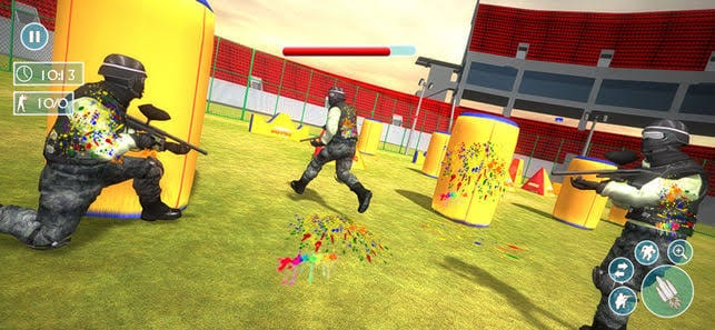 1. Paintball Shooting Games 3D
