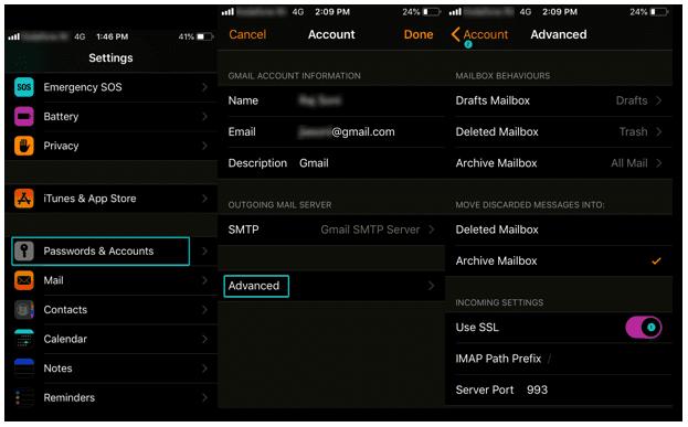 iPhone Backup and Sync using SSL