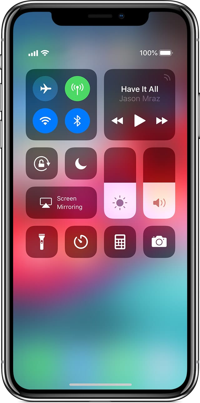 turn Off wifi and bluetooth iphone