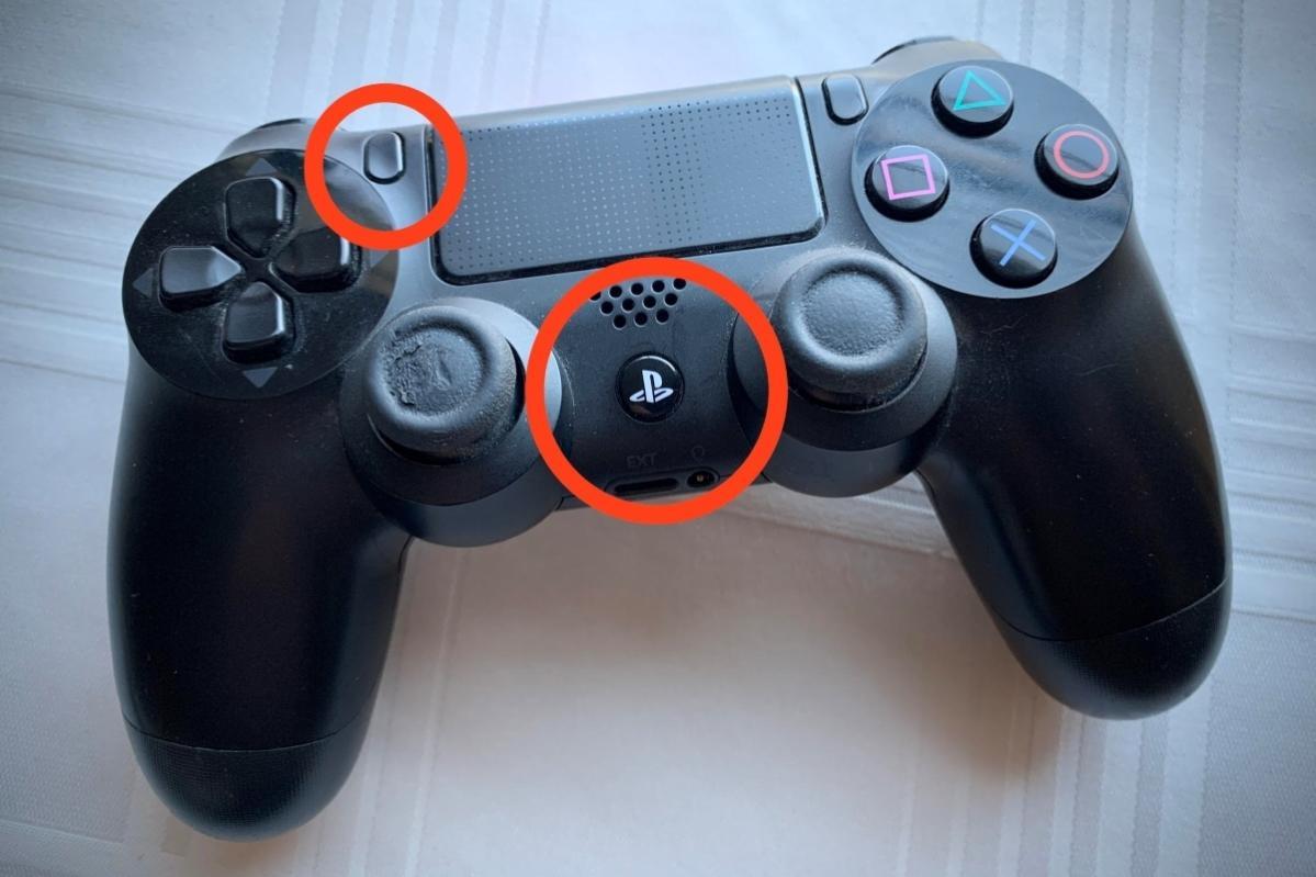 Dualshock PS4 pair unpair settings