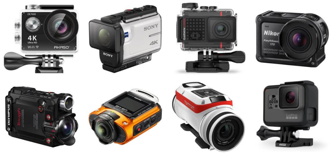 GoPro action camera alternatives