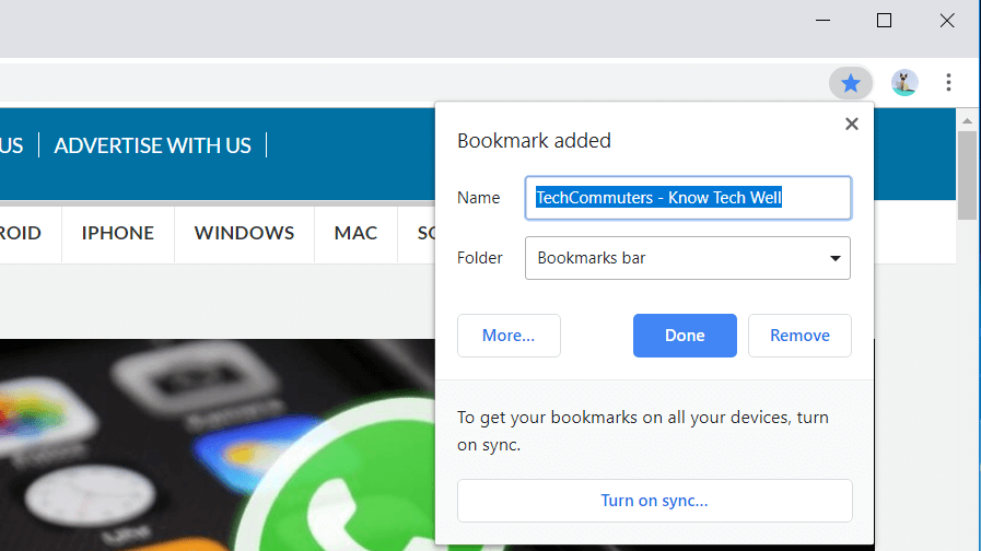 chrome-bookmark-techcommuters